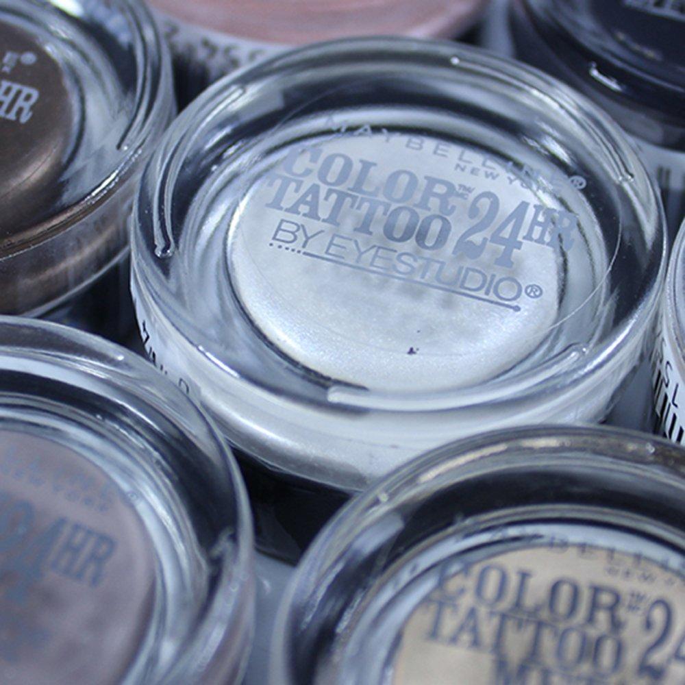Maybelline Color Tattoo Metal Sombras Para Ojos Pigmento 24H Tonos Surtidos