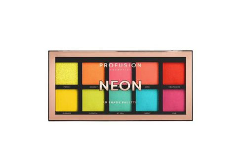 Profusion Neon 10 Shade Palette Eyeshadow (1800-2MSET)