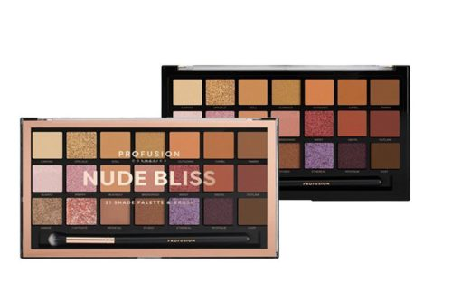 Profusion Nude Bliss 21 Palette & Brush (19060-6ISET)