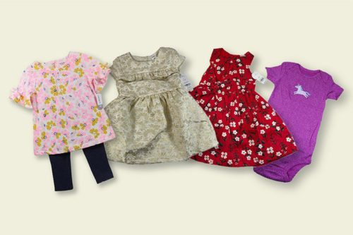 Carter's Clothes For Baby & Kids Mix Lot