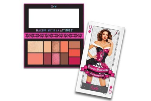 Rude Cosmetics Face Card Palette Queen Of Diamonds (RC-88130)