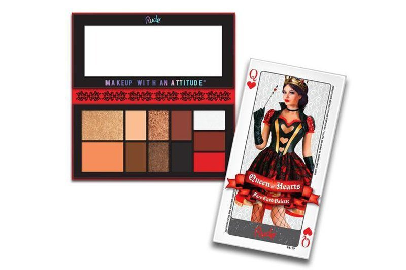 Rude Cosmetics Face Card Palette Queen Of Hearts (RC-88129)