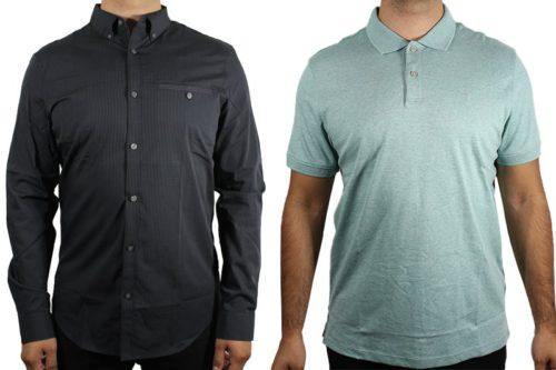 Calvin Klein Men's Shirts And Polos Lot