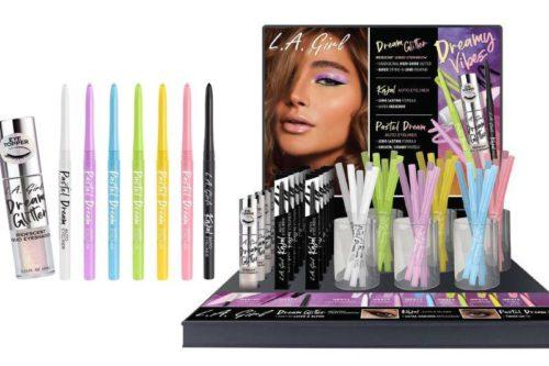 L.A. Girl Dreamy Vibes – Liquid Eyeshadows & Eyeliners Display (GPD401)