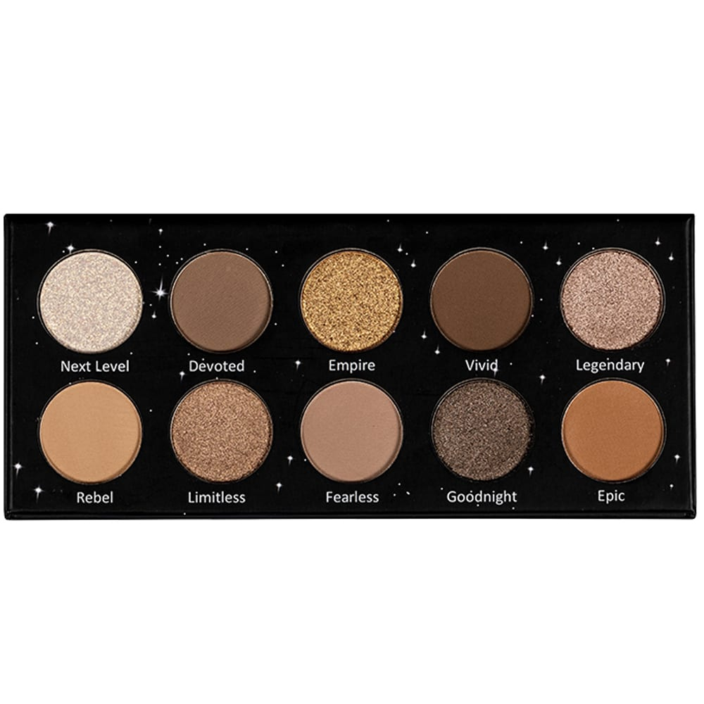 Lurella Cosmetics Iconic 10 Color Eyeshadow Palette (LIC10)