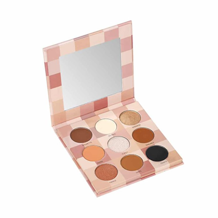 Lurella Cosmetics In The Nude 9 Color Eyeshadow Palette (LINUDE9)