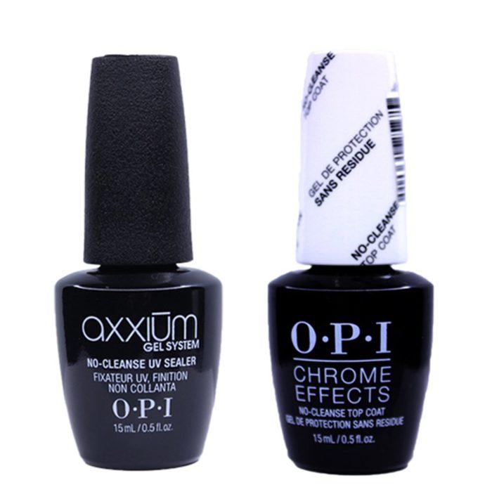 OPI Nail Gel Color CHROME Effects Top Coat and UV Sealer Surtidos 15ml/ 0.5 fl.oz (GELCOLOR)