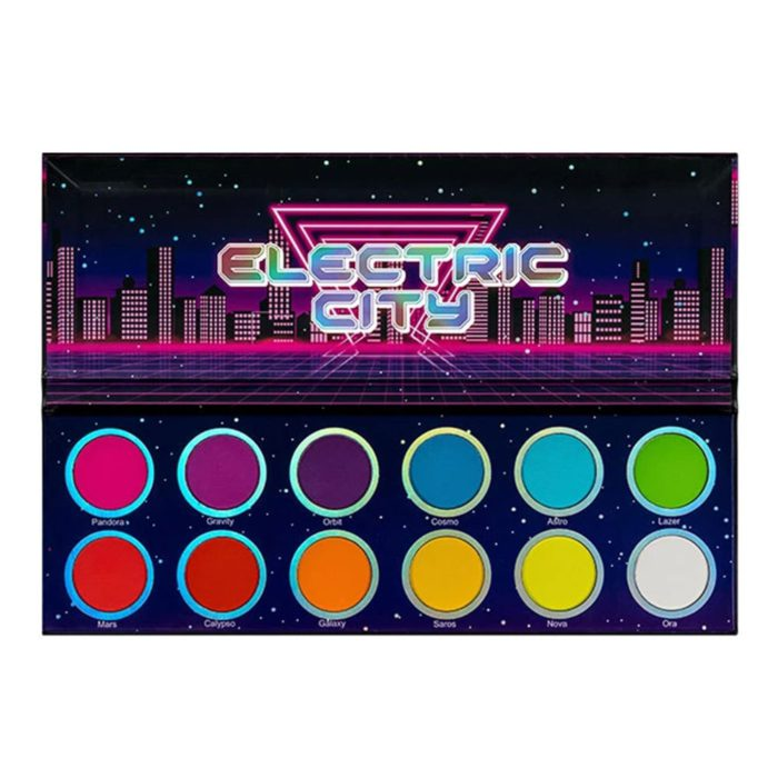 Lurella Cosmetics Electric City Palette (LECP)