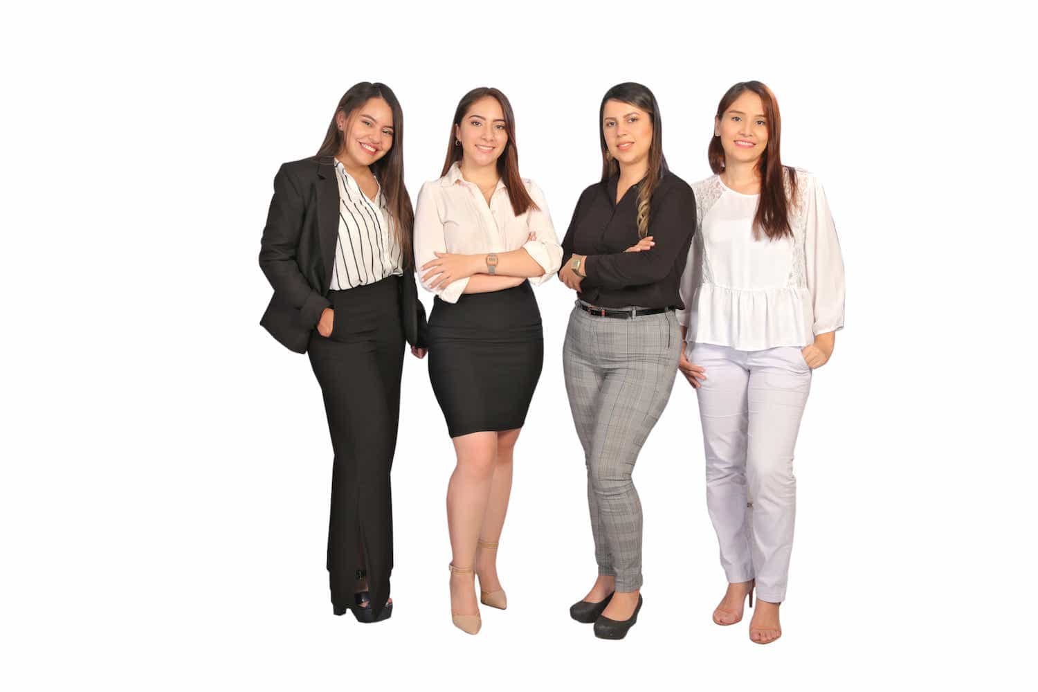 The four sales representatives of Wholesale55
