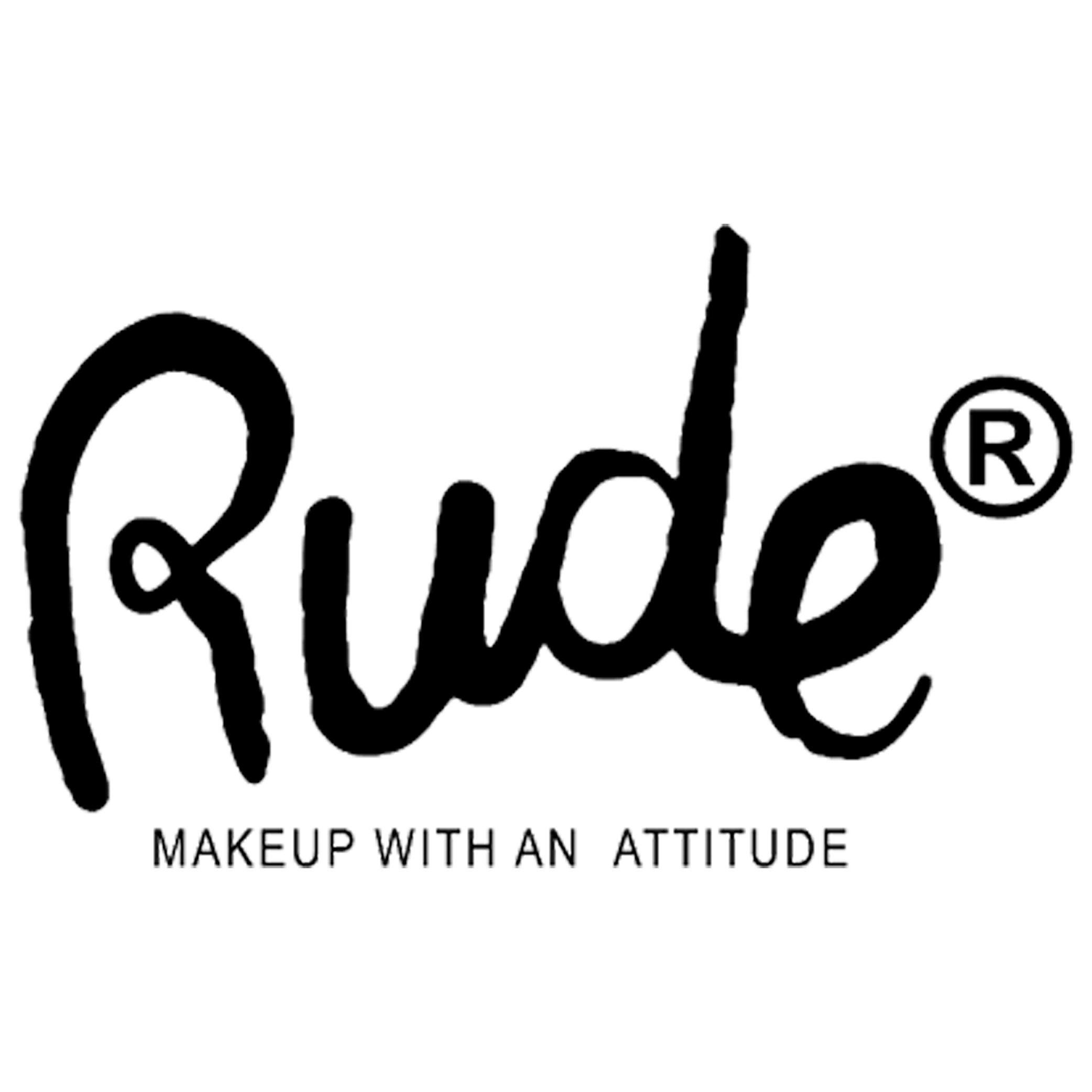 Rude Cosmetics' logo