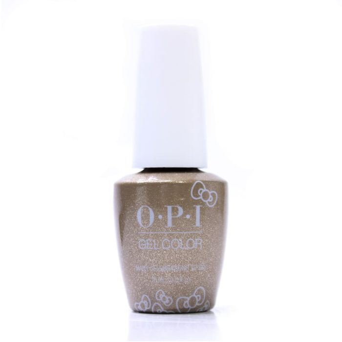 A OPI Gel Color Nail Polish Many Celebrations to Go! bottle