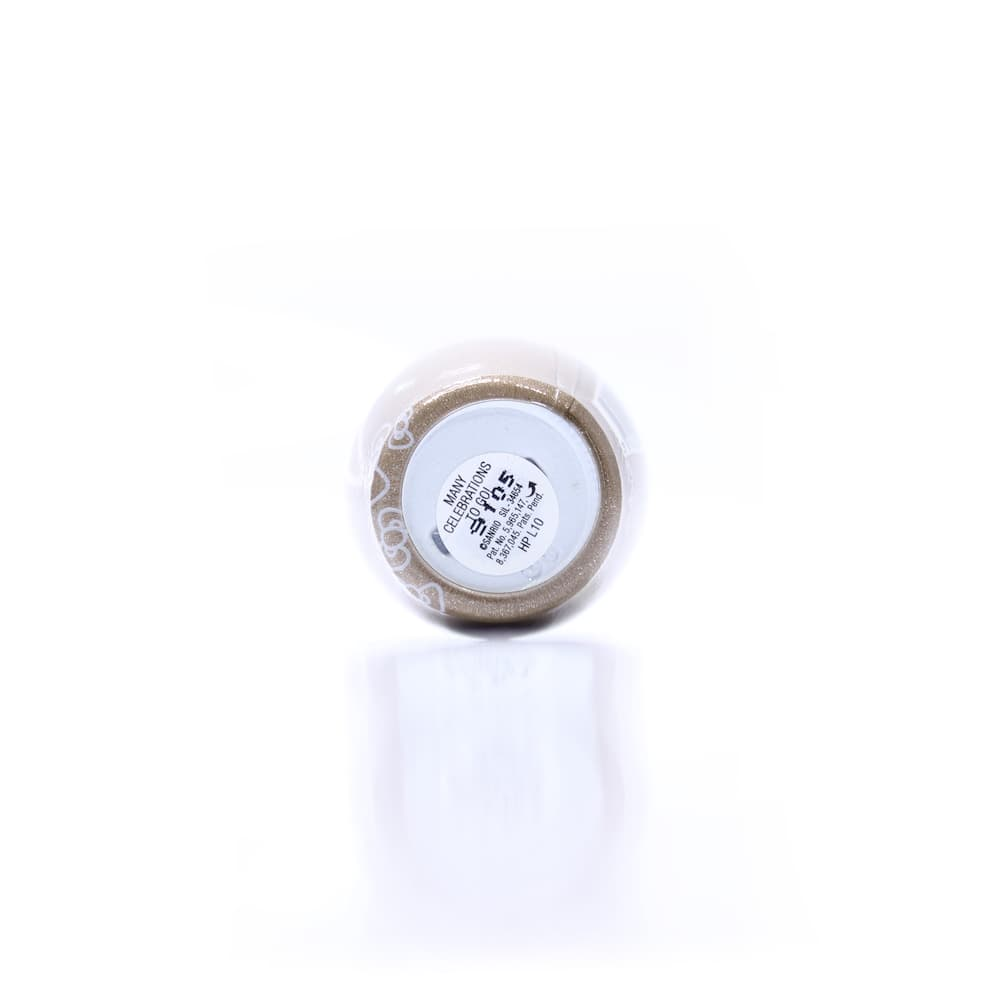 The bottom view of the tag of an OPI Gel Color Nail Polish Many Celebrations To Go! bottle
